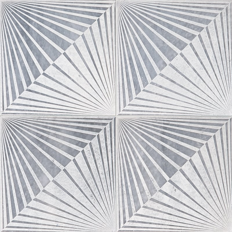 Allure Diced Blade Marble Tiles 10×10