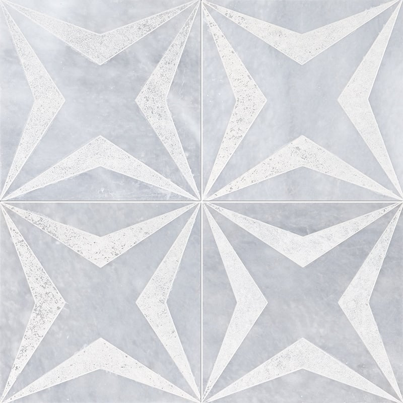 Allure Diced Stars Marble Tiles 8×8