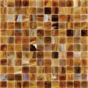Mare Mist Polished 1x1 Glass Mosaics 12x12