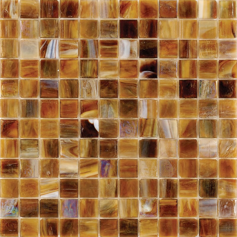 Mare Mist Polished 1×1 Glass Mosaics 12×12