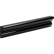 Black Polished Andorra Marble Mouldings 2x12