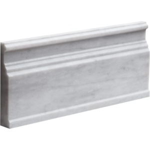 Avenza Honed Base Marble Moldings 5 1/16x12
