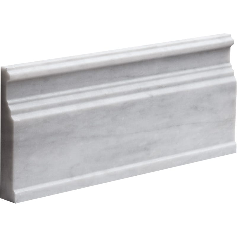 Avenza Honed 5 1/16x12 Base Marble Mouldings