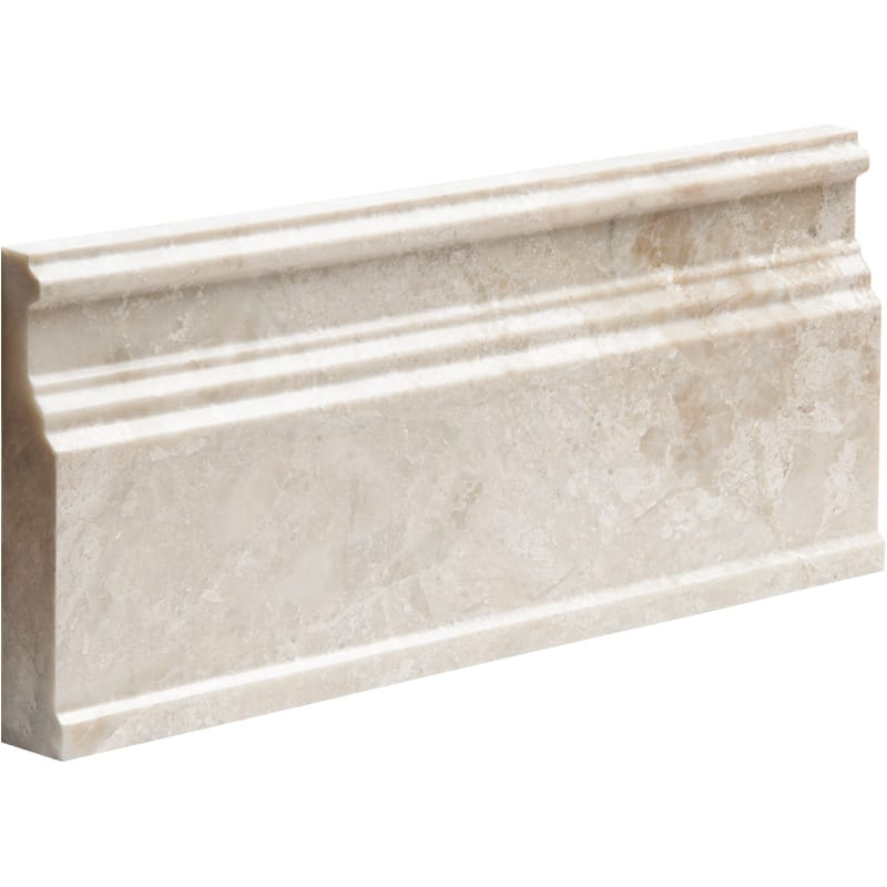 Diana Royal Polished 5 1/16x12 Base Marble Mouldings