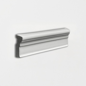 Cold Glossy Ogee Trim Ceramic Moldings 2x6