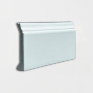 Jules Glossy Base Trim Ceramic Moldings 4 3/16x6