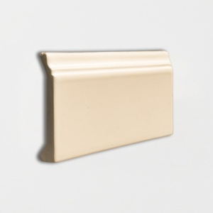 Honey Glossy Base Trim Ceramic Moldings 4 3/16x6