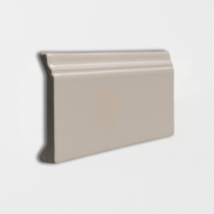 Latte Glossy Base Trim Ceramic Moldings 4 3/16x6