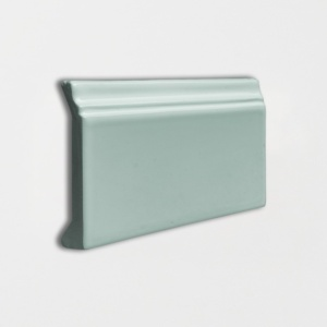 Witty Green Glossy Base Trim Ceramic Moldings 4 3/16x6