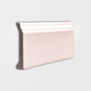 Rosie Glossy Base Trim Ceramic Moldings 4 3/16x6