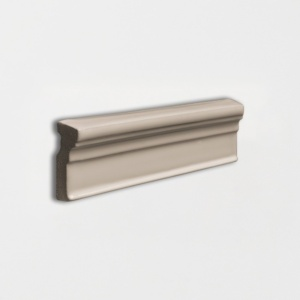 Latte Glossy Ogee Trim Ceramic Moldings 2x6