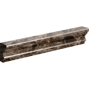Emperador Dark Polished Andorra Marble Moldings 2x12