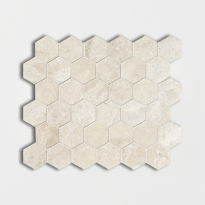 Diana Royal Polished Hexagon Marble Mosaics 10 3/8x12