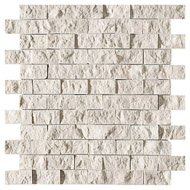 Diana Royal Rock Face 1x2 Marble Mosaics 12 5/8x12 5/8