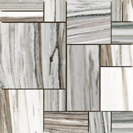 Verona Polished Ashlar Pattern Slate Mosaics 12x12