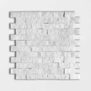 Avalon Rock Face 1x2 Marble Mosaics 12 5/8x12 5/8