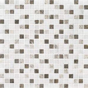 Avalon Polished 5/8x5/8 Marble Mosaics 12x12
