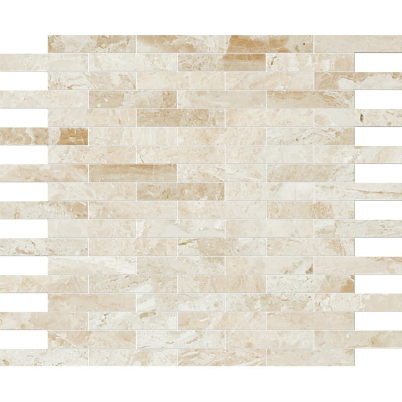 Diana Royal Polished 12x12 5/8x3 Marble Mosaics
