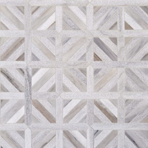 Skyline Multi Finish Ponte Basket Marble Mosaics 14 13/16x14 13/16