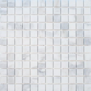 Calacatta Gold Royal Polished 1x1 Marble Mosaics 12x12
