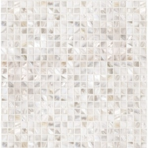 Mother Of Pearl Polished 1/2x1/2 Iridescent Shell Mosaics 12x12