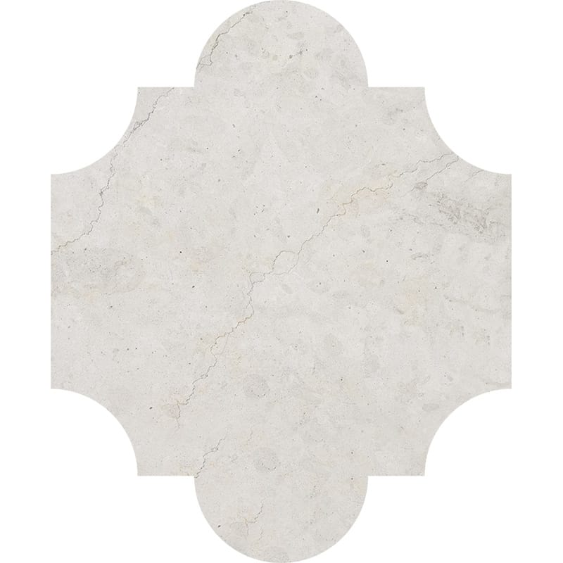 Britannia Honed San Felipe Limestone Waterjet Decos 8×9 3/4