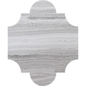 Haisa Light Honed San Felipe Marble Waterjet Decos 8x9 3/4