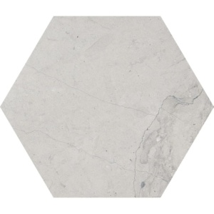 Britannia Honed Hexagon Limestone Waterjet Decos 5 25/32x5