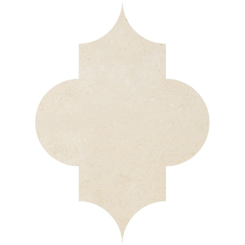 Casablanca Honed Arabesquette Limestone Waterjet Decos 6×8 1/4