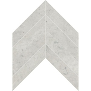 Britannia Honed Chevron Limestone Waterjet Decos 13x10