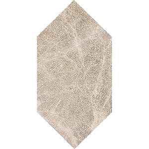 Paradise Leather Large Picket Marble Waterjet Decos 6x12