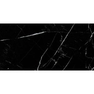 Black Honed Marble Tile Swatch 2 3/4x5 1/2