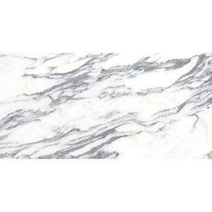 Calacatta Arabescato Polished Marble Tile Swatch 2 3/4x5 1/2