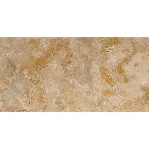 Canyon Honed&filled Travertine Tile Swatch 2 3/4x5 1/2
