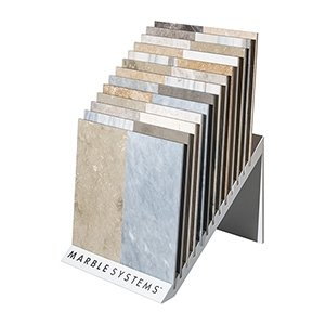 Special Finishes Waterfall Marketing Tool Tile Displays Custom