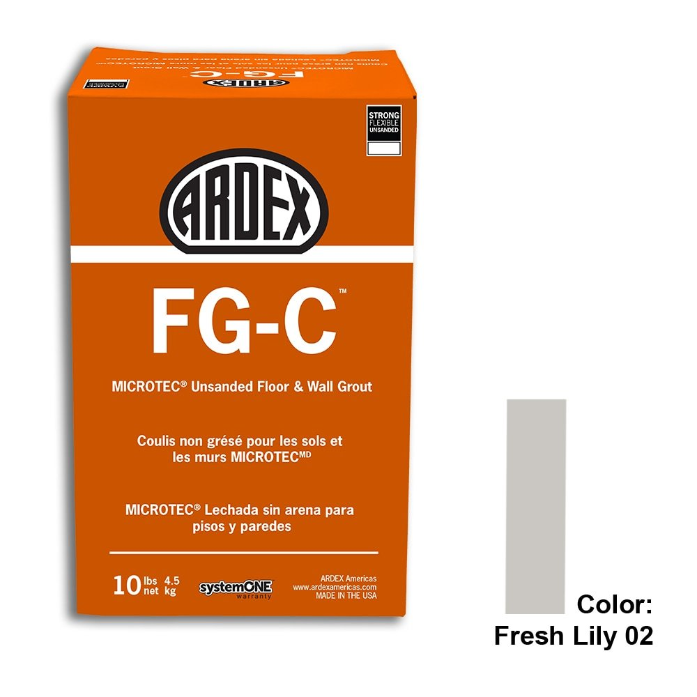 Fresh Lily Tile Setting Materials Fg-c Unsanded Grout Custom