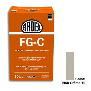 Irish Crème Tile Setting Materials Fg-c Unsanded Grout Custom