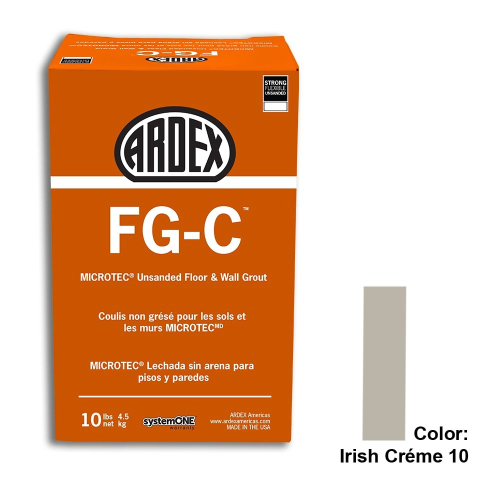 Irish Creme Tile Setting Materials Fg-c Unsanded Grout Custom