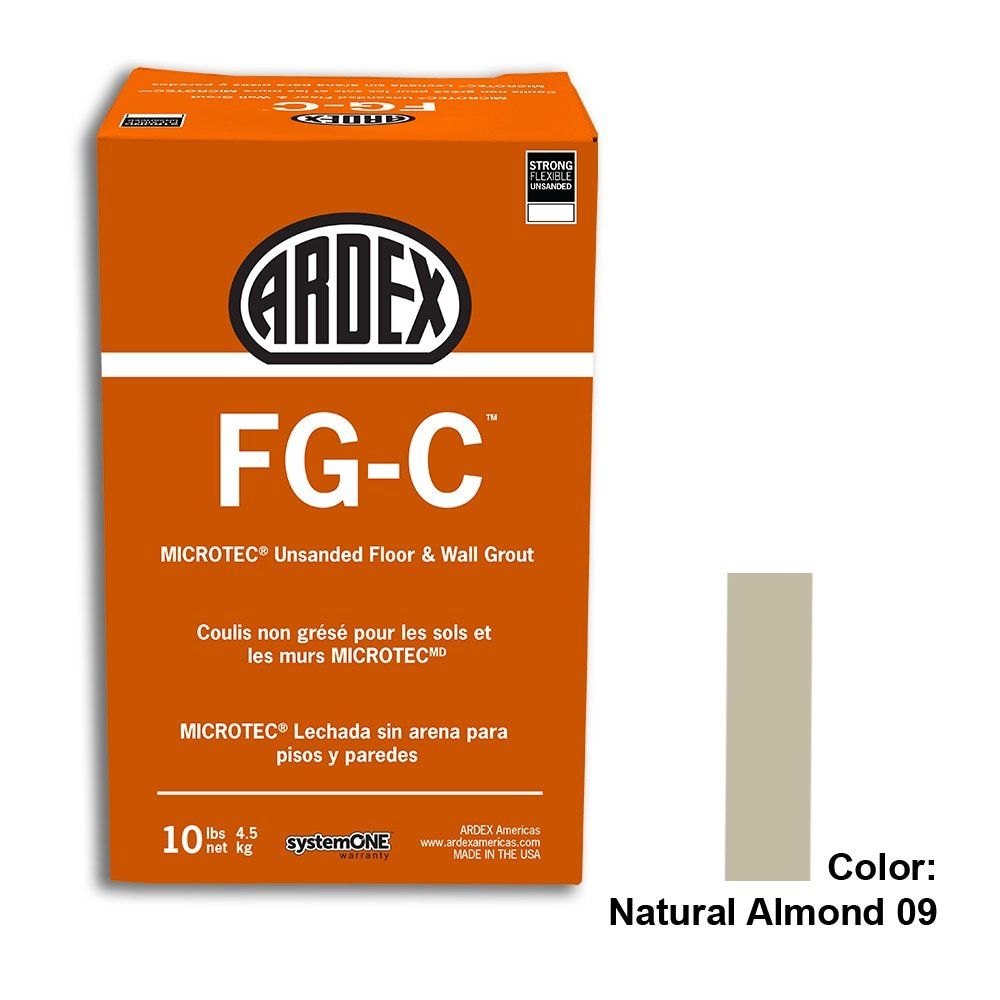 Natural Almond Tile Setting Materials Fg-c Unsanded Grout Custom