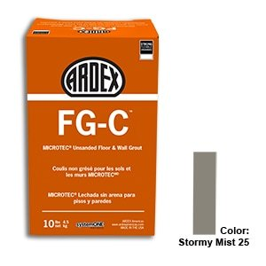 Stormy Mist Tile Setting Materials Fg-c Unsanded Grout Custom