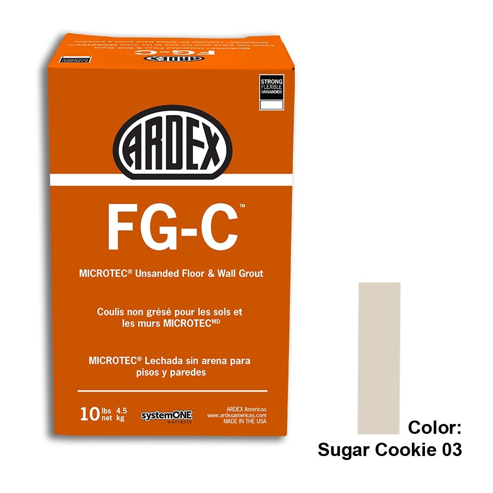 Sugar Cookie Tile Setting Materials Fg-c Unsanded Grout Custom
