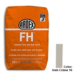 Irish Creme Tile Setting Materials Fh Sanded Grout Custom