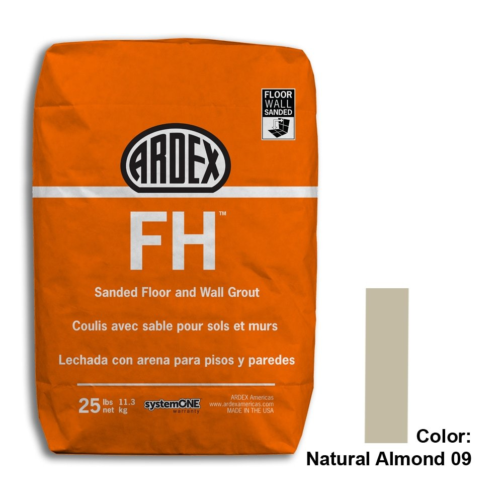 Natural Almond Tile Setting Materials Fh Sanded Grout Custom