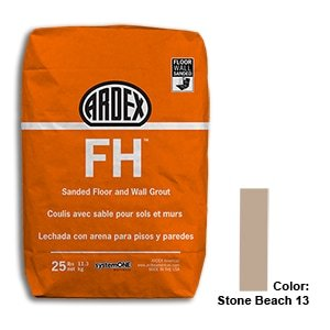 Stone Beach Tile Setting Materials Fh Sanded Grout Custom