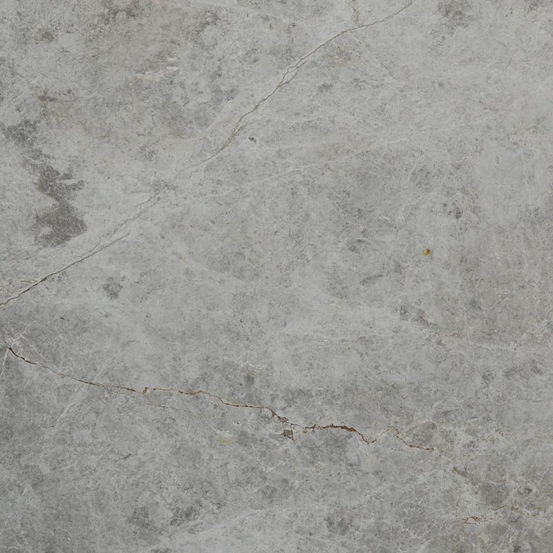 Silver Shadow Polished Random 1 1/4 Marble Slab