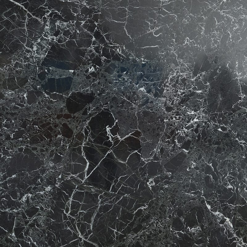 Black Levanto Polished Random 1 1/4 Marble Slab