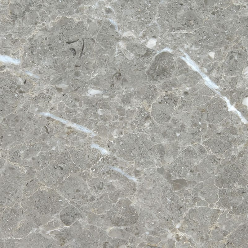 Silver Drop Polished Random 3/4 Marble Slab