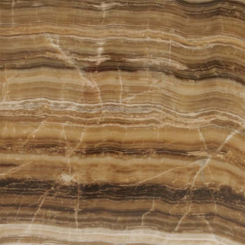 Caramel Onyx Vein Cut Polished Onyx Slab Random 3 4