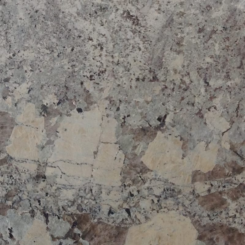 Alaska White Polished Granite Slab Random 1 1 4 Marble