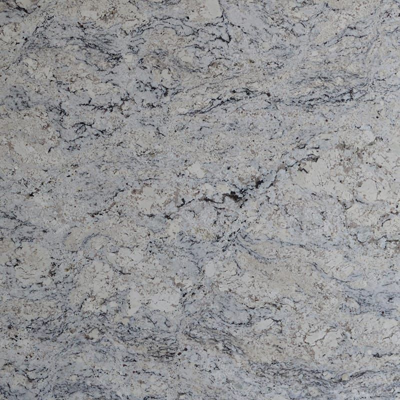Glacier White Polished Granite Slab Random 1 1 4